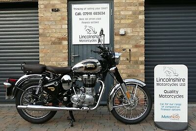 68 ROYAL ENFIELD CLASSIC CHROME ABS 565 miles only!!!
