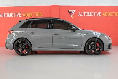 2017/67 Audi RS3 8V Sportback 2.5 TFSI Quattro S-Tronic 400PS | £7,500 Options |