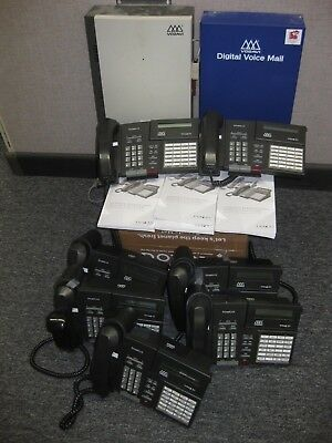 VODAVI PHONE SYSTEM COMPLETE  Used - working when removed from our phone system