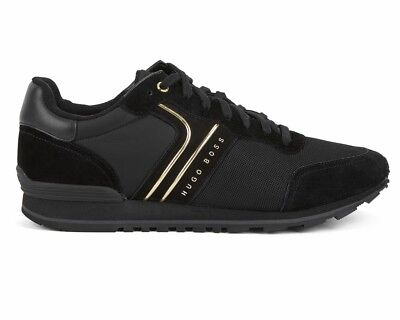 f639533a7e71 HUGO BOSS PARKOUR Runn Nymx 50317133 008 Mens Trainers Black Shoes ...
