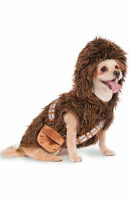 Chewbacca Star Wars Dog Pet Costume/Jacket Size Small Brand NEW!