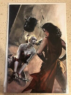 Justice League VS. Suicide Squad #1 DELL'OTTO VIRGIN COVER LIMITED 1000 Copies