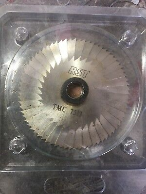 Key Cutting Blade RST TMC7513  New Old Stock Side And Face