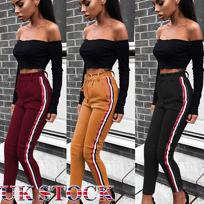 Christmas Xmas Women Yoga Gym Sport Leggings Run Fitness Pants Workout Trouser