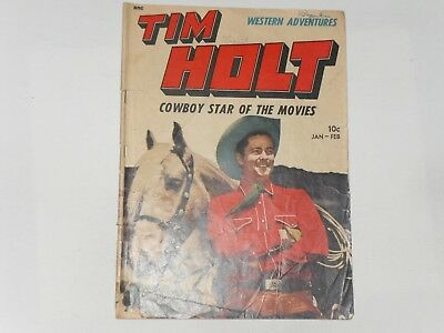 Tim Holt  #4  Jan / Feb  1949   M.e. Comics  Frank Bolle Art