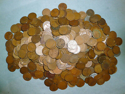 707 mixed Wheat Pennies - MUCH HIGHER PERCENTAGE OF TEENS AND TWENTIES