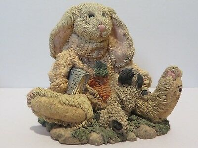 1993 Boyds Bears and Friends, Bunny and Lamb