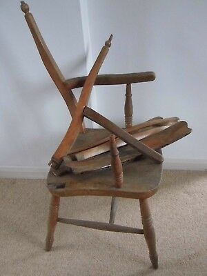 Victorian Windsor Arm Chair for repair