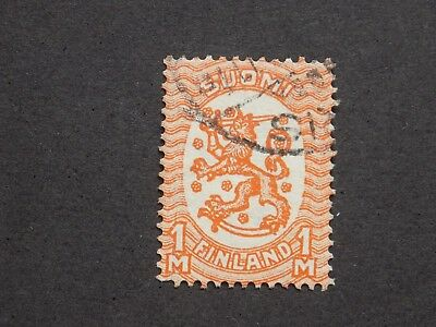 (1) used Finland stamp off paper Scott # 102