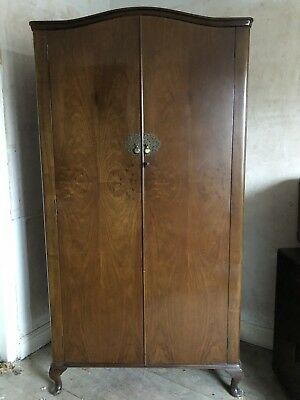 Solid Wood Antique Wardrobe Part Of Matching Set Stylwell Furniture