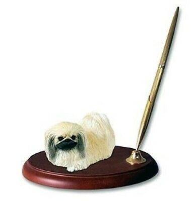 Victorian Trading Co Favorite Dog Breed Pekingese Desk Pen Holder