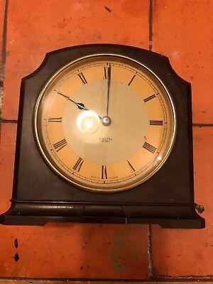 Smiths Sectric Mantle Bakelite Clock 1950s