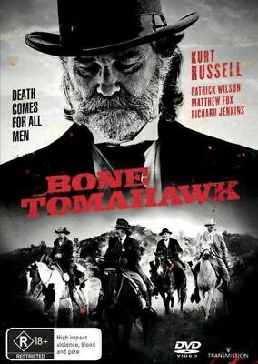 NEW Bone Tomahawk DVD Free Shipping