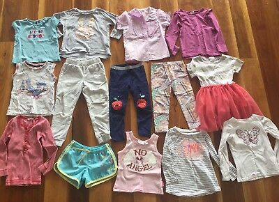 Girls Size 4 Clothing Bundle Incl Country Road, Rip Curl Etc