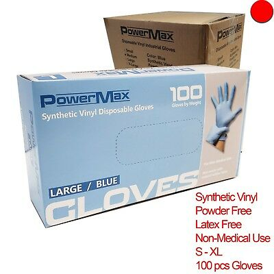 1000pcs Disposable Nitrile Synthetic Vinyl Gloves Dental Nail Lab Industrial