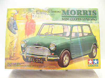 124 Tamiya Morris Mini Cooper 1275s Mk With Skalecraft Resin Van