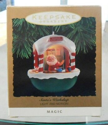 Hallmark Keepsake Magic Ornament SANTAS WORKSHOP 1993