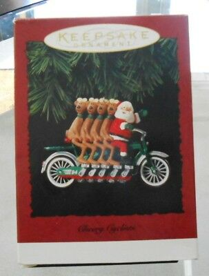 Hallmark Keepsake Ornament CHEERY CYCLISTS 1994