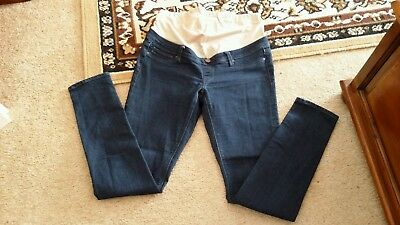 """BARGAIN Ladies size 10,  Blue  Skinny  maternity jeans - """"Jeanswest""""."""