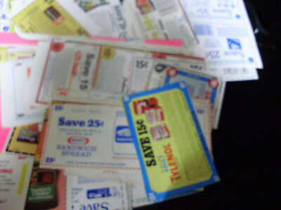 Lot Of Vintage Coupons With And Without Expiration 1981 & 1982