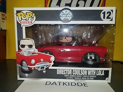 Funko Pop Vinyl Rides #12 Director Coulson with Lola (Marvel Agents of SHIELD)