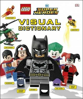 Lego DC Super Heroes Visual Dictionary, Hardcover by Dowsett, Elizabeth; Kapl...