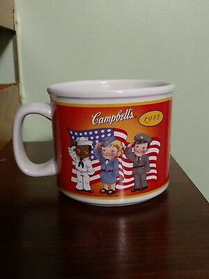 Campbell's Soup Mug 100 Years Collection 1904-2004