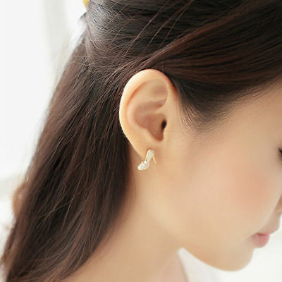 Cute Women Kids Girls Fashion Jewelry Bags Heels Shoe Ear Stud Earrings Gifts