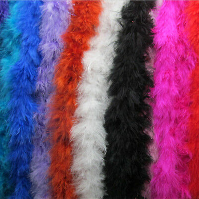 Hot Sale 2M Marabou Feather String Swansdown Fur Trimming Soft Fluffy Trim