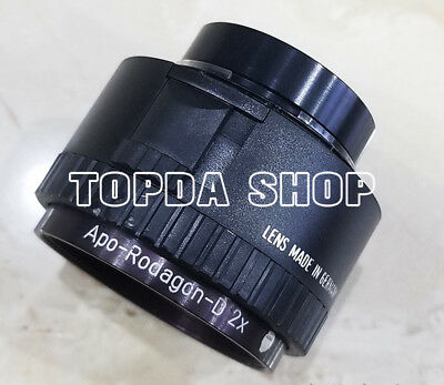 1PC RODAGON APO-RODAGON-D f=75mm/4.5 Big head macro industrial camera lens#SS