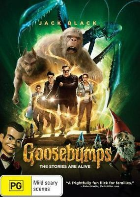 Goosebumps (DVD, 2016) *Jack Black * BRAND NEW REGION 4