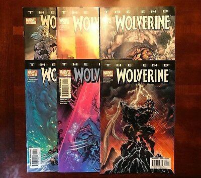 Wolverine: The End (2004) #1-6 First Prints Complete Mini Series Jenkins VF/NM