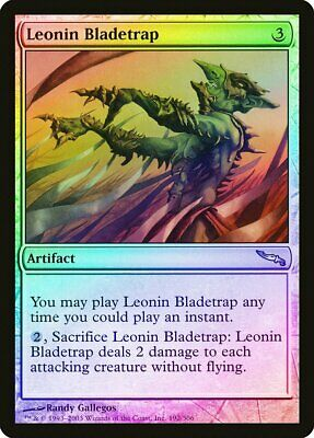 Leonin Sun Standard FOIL Mirrodin NM Artifact Rare MAGIC MTG CARD ABUGames