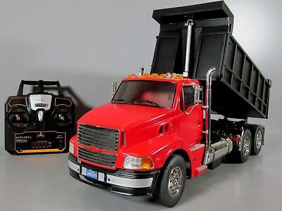 Custom Built Tamiya 1/14 Ford Aeromax Single Cab Lift Dump Bed Truck ESC 2.4GHz