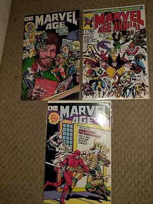 Marvel Age lot 22 of 23 Comic Books 1st appearance He-Man in Marvel Bronze Age