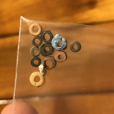10 RARE Native American Trade Beads Indian Found In South Alabama Pre Columbian
