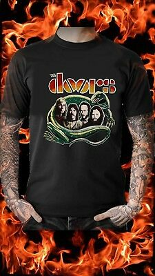 THE DOORS Lizard King Classic Vintage Retro MEN'S & WOMEN'S T SHIRT