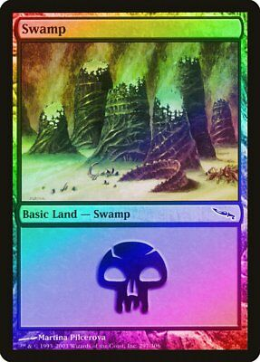 341 FOIL 8th Edition NM-M Basic Land MAGIC THE GATHERING CARD ABUGames Swamp