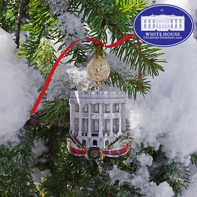 2018 White House Christmas Ornament
