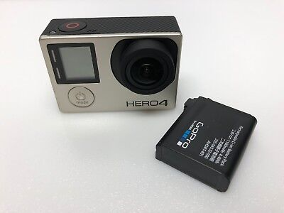 GoPro HERO4 4K 1080p HD Action Camera Silver Edition Touchscreen CHDHY-401