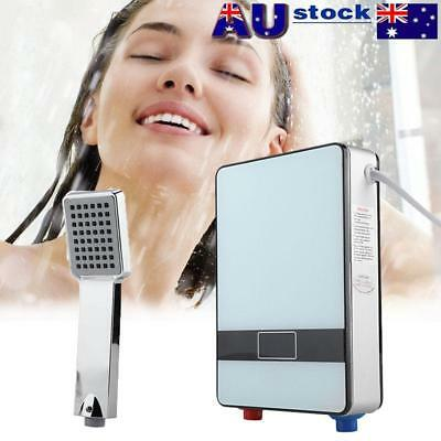 6500W Instant Hot Electric Water Heater Portable Shower Camping Hot Water System