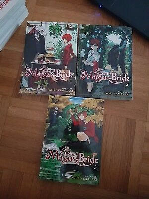 [Manga] The Ancient Magus Bride 1-3