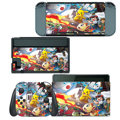 POKEMON PIKACHU SKIN Stickers For New Nintendo 3DS XL
