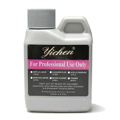 120ml 4oz Professional Acrylic Liquid for Nail Art False Tips