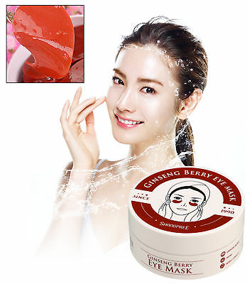 SHANGPREE Ginseng Berry Eye Mask Wrinkles Puffiness Dark Circle Care ~ 1.4g*60ea