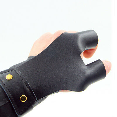 Traditional Bow Shoots Microfiber Hand Protective Gloves Professional Hand Guard