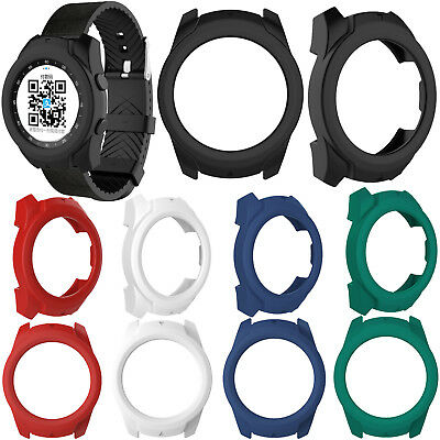 Silicone Rubber Case Cover Skin Protector for TicWatch Pro Bluetooth Smart Watch