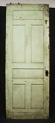"33""x89""x1.75"" Antique Vintage Victorian Wood Wooden Sliding Pocket Door Panels"