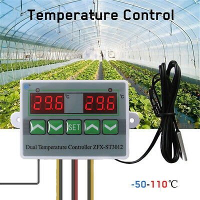 Probe Temp. Switch Temperature Controller  Incubator  Thermostat  Regulator
