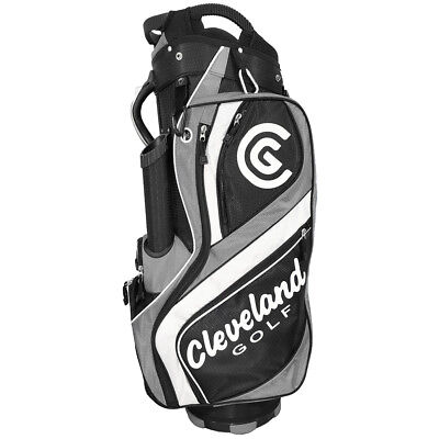 Cleveland CG Cart Golf Bag - Black/Charchol/White